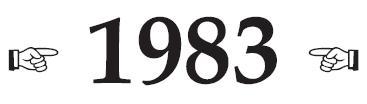 [Jeu] Petit... eeuh... non : Grand Jeu - Page 5 1983%20Logo