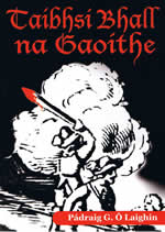 Taibhsí Bhall na Gaoithe Pádraig G. Ó Laighin Irish book for learners Beginners Irish Gaeilge for beginners Learning Irish